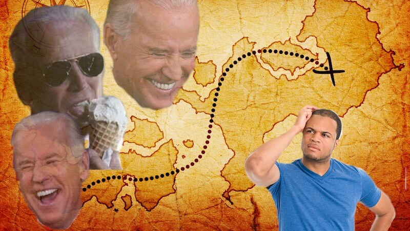 Bidens Stimulus Tracker Treasure map
